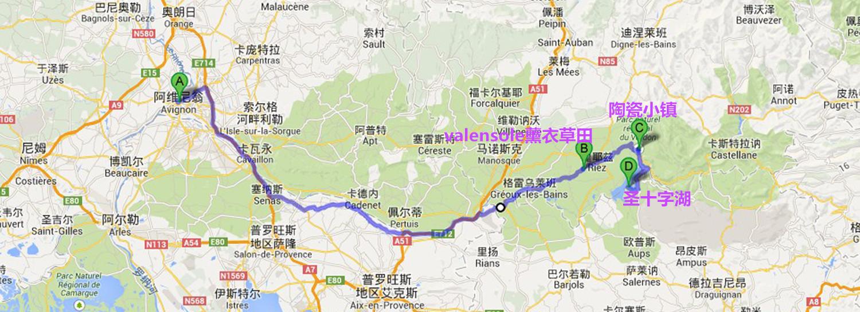 大峡谷路线图