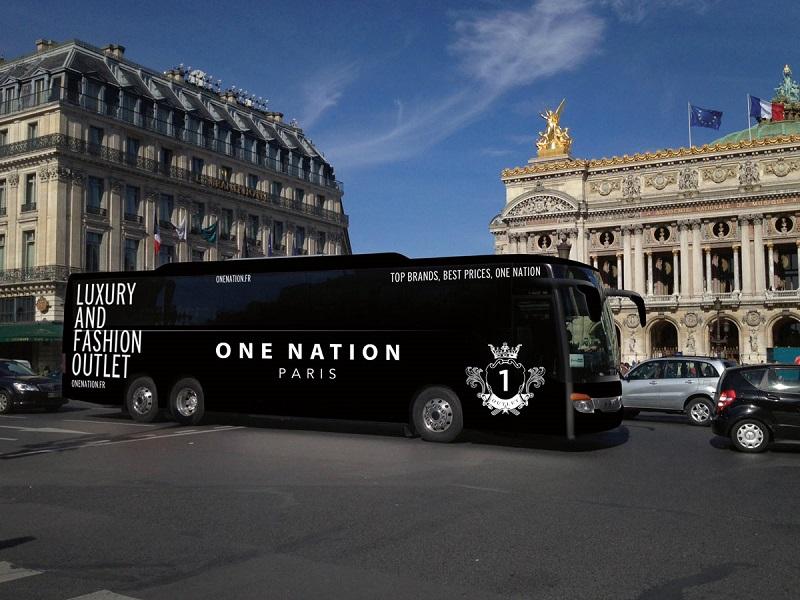 巴黎One Nation Outlet巴士往返接送