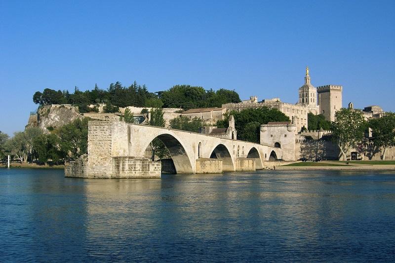 Avignon-uitzicht