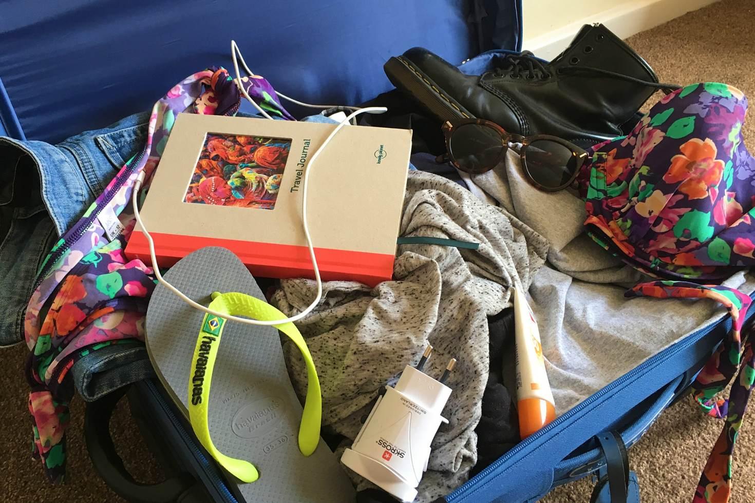 旅行技巧-行李打包