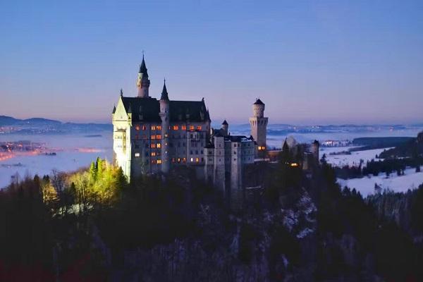 冬季-德国天鹅堡-2